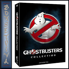 GHOSTBUSTERS COLLECTION - 1 2 & 3 - 3 FILM COLLECTION *BRAND NEW DVD *