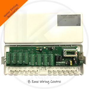 8 zone Underfloor heating wiring centre with LED  Water Underfloor Heating