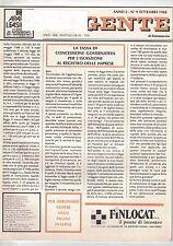 09 1988 - L'AGENTE DI COMMERCIO - ANNO 2 - N.9 - 09 1988 - LA TASSA DI CONCESSIO