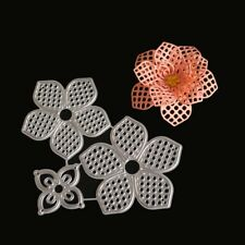 DIY Flower Metal Cutting Dies Stencil Scrapbooking Album Paper Card Craft Gift