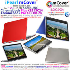 """NEW mCover® Hard Case for 12.3"""" SAMSUNG Chromebook Plus XE513C24 Pro XE510C24"""