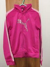 Girls Pink Puma Jacket Size 6x