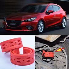 2pcs Rear Air Suspension Shock Bumper Spring Coil Cushion Buffer For Mazda 3