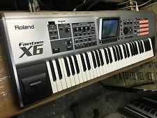 Roland Fantom X6 61-Key Keyboard / Synthesizer/synth/pads /512 meg //ARMENS//