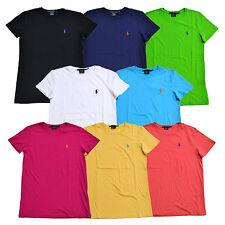 Ralph Lauren женская футболка с Джерси футболка с вырезом лодочкой, с короткими рукавами Xs S M L Xl новый с ценниками Rl
