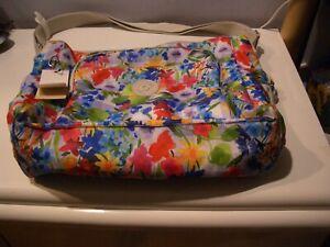 Kipling KYLER Large Baby Diaper Tote Bag Picnic in the Park NWT