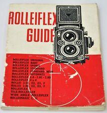 ROLLEIFLEX Focal Press Guide 35th edition 1966