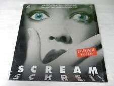 Scream - PAL - Deutsch - Laserdisc !