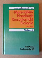 Materialien-Handbuch Kursunterricht Biologie - ÖKOLOGIE (I) - Jaenicke AULIS