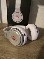 Beats By Dr Dre Pro Silver White Studio Headphones