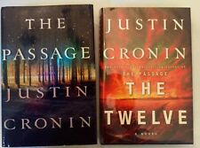 JUSTIN CRONIN  SIGNED  The Passage & The Twelve (1st, 1st, Hardcovers)