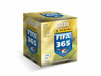 2019 FIFA 365 Soccer Panini Sticker Collection 50 Packs in Box - 250 Stickers