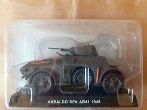 Modellino Die Cast Carabinieri ANSALDO SPA AB41 1946 1:43 NUOVO