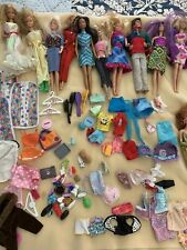 Lot of Vintage Barbie Dolls, Clothes