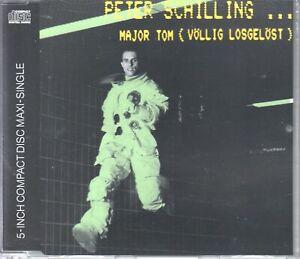 Peter Schilling  CD-Single   Major Tom ( Völlig Losgelöst )  ©   1982 /  1990