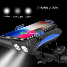 HOT SALE --- 4 in 1---Bicycle Light/Bike Horn/Phone Holder/Power Bank-2000&4000