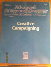 TSR Advanced Dungeons & Dragons Dungeon Masters Guide Creative campaña reglas