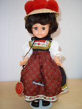 "Vintage Engel Puppe German Doll 12"" Vinyl With Original Box - Excellent!"