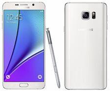 "Samsung Galaxy Note 5 White SM-N920C (FACTORY UNLOCKED) 5.7"" QHD , 32GB, 4GB RAM"