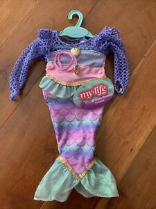 My Life As Purple Mermaid Costume   New with Tags!