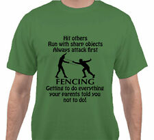 Getting To Do Sport Fencing T-Shirt