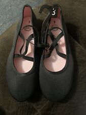 Brand New Girls Size 3 Wonder Nation Casual Criss Cross Flats (Youth Size)