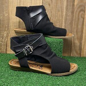 Blowfish Malibu Barend Gladiator Sandals Women's Size 8 Black