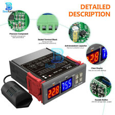 STC-3028 DC12V 10A Digital Dual LED Temperature & Humidity Controller Thermostat