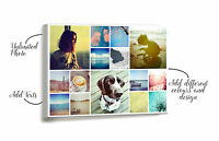 Personalised Canvas Collage Printing - Your Photo Collage Printed & Box Framed