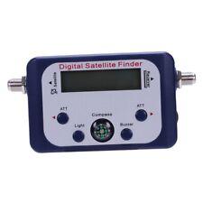 Digital LCD Satellite Finder Sat Finder Signal Strength Meter Sky Dish Free F3D5
