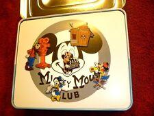 Disney Catalog - Mickey Mouse Club w/TV Tin Boxed Pin Set