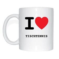 I love TENNIS DE TABLE Tasse à café