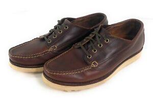 Oak Street Bootmakers Trail Oxford Horween Chromexcel Shoes Mens 10 Vibram USA