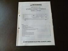 Original Service Manual Schaltplan Mitsubishi DT-640