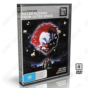 Killer Clowns From Outer Space DVD : (1988) Original Horror Movie : Brand New