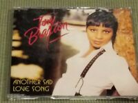 TONI BRAXTON ANOTHER SAD LOVE SONG RARE 4 TRACK IMPORT REMIX CD FREE SHIPPING