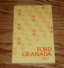 Original 1975 Ford Granada Owners Operators Manual 75