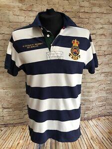 Mens Ralph Lauren Polo Shirt Medium Custom Fit