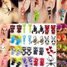 Women Girl Cute 3D Cartoon Animal Fox Cat Polymer Clay Ear Stud Earrings Jewelry