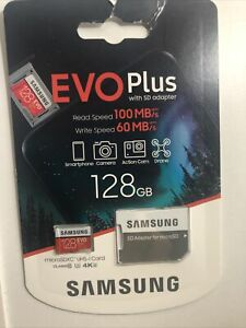 Samsung Evo Plus 100mbs MicroSD Speicherkarte - 128gb
