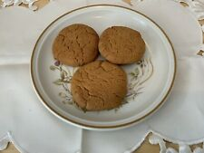 24 Homemade Ginger Biscuits - Crisp On The Outside Slightly Chewy In The Middle