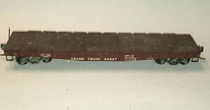 HO SCALE - METAL FLAT CAR ref140