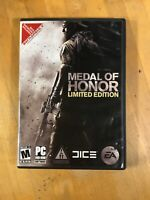 Medal of Honor Limited Edition PC VIDEO GAME DVD-ROM Software Game COMPLETE