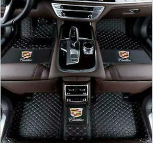 Fit Cadillac ATS CTS CT6 SRX XT4 XT5 XTS SLS Escalade Waterproof Car Floor Mats