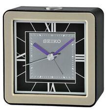 Seiko Analogue Plastic Desk, Mantel & Carriage Clocks