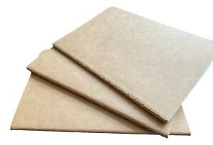 Kraft Cover Pocket Notebook Journal Cahier Refill ~ Ivory Lined Paper A6 Size RC