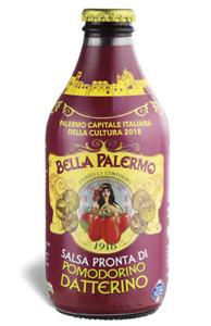 Salsa pronta di pomodoro datterino 33cl Siciliana Bella Palermo