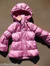 NEW HELLO KITTY JACKET COAT TOP PINK $60 Girls 2 2T