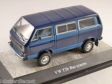 VOLKSWAGEN T3b SYNCRO BUS in Blue 1/43 model PREMIUM CLASSIXXS