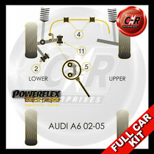 Audi A6 (02-05) Powerflex Black Complete Bush Kit